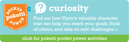 Flynn the Pig Poketti Pocket Power Curiosity