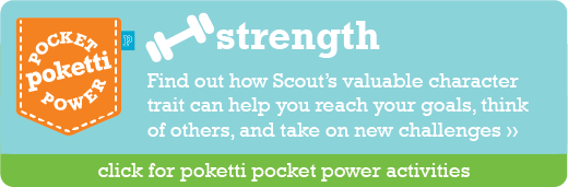 Scout the Chick Poketti Pocket Power Strength