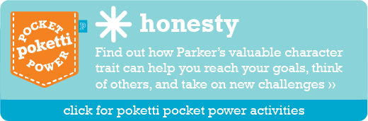 Parker the Owl Poketti Pocket Power Honesty