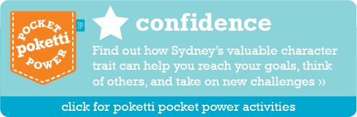 Sydney the Penguin Poketti Pocket Power Confidence