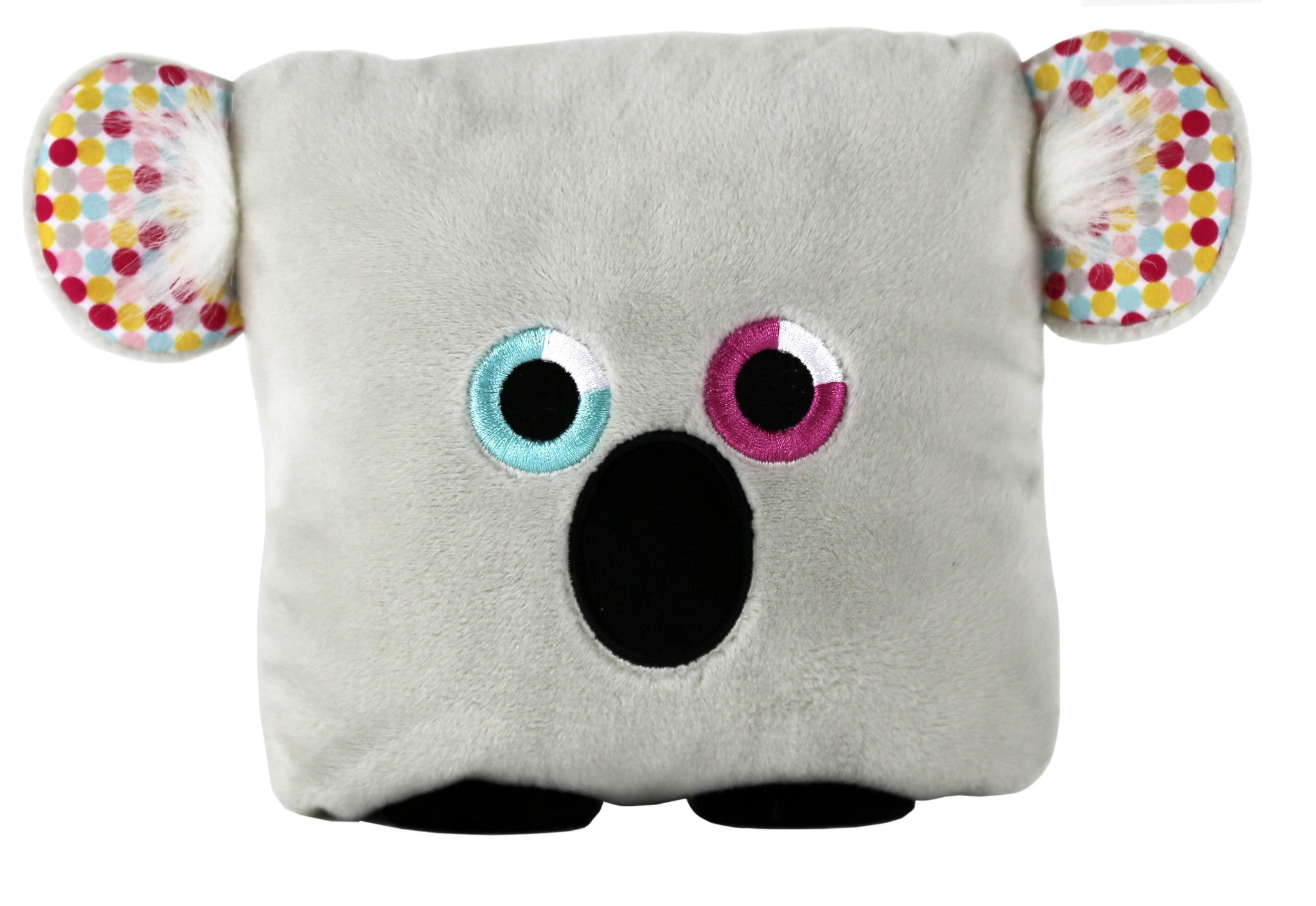 Plush toy koala bear stuffed animal with a useful back pocket