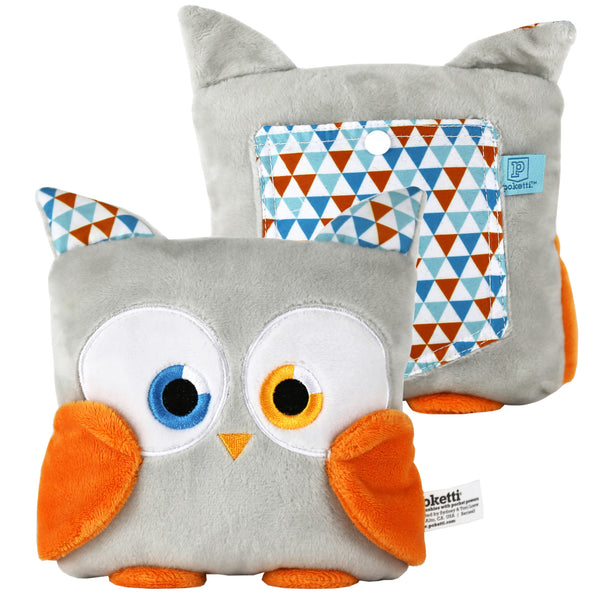 Poketti Plushies Series2 Parker the Owl