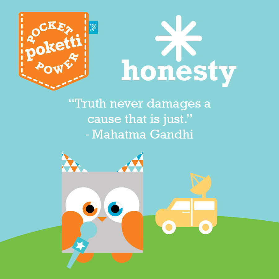 Poketti Parker the Owl empowers kids with Honesty