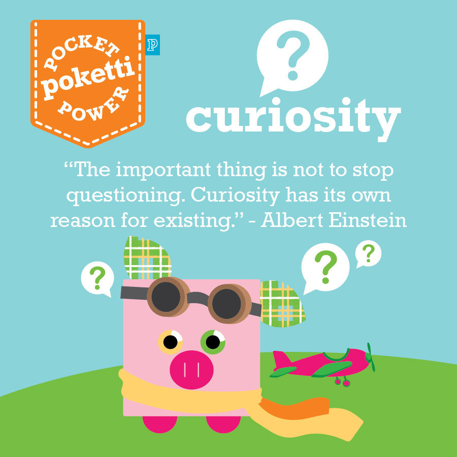 Plush toy pig with Pocket Powers spreads message of Curiosity