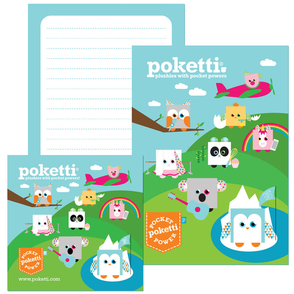 Poketti Series2 Collection Stationery Set