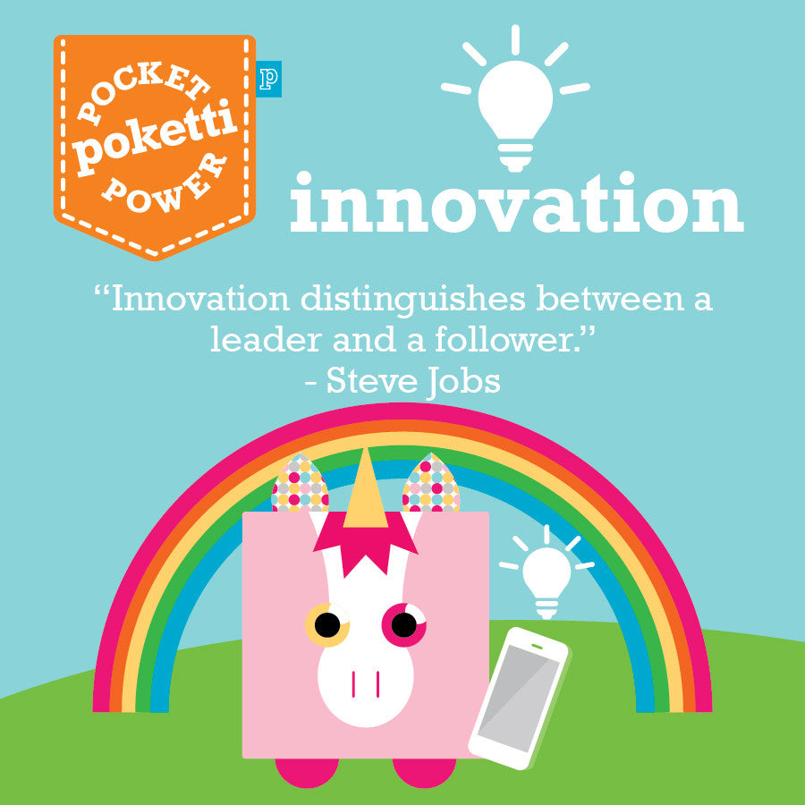 Poketti Shawn the Unicorn inspires kids with Innovation