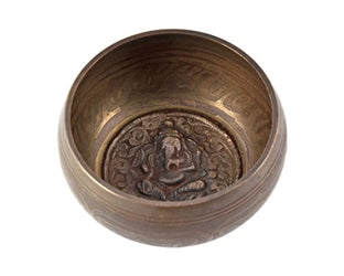 Lord Ganesh Singing Bowl 4""