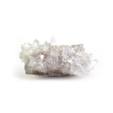 Raw Crystal Quartz Cluster