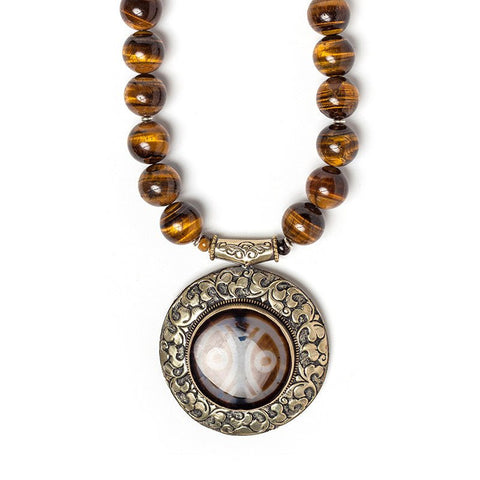 Tiger Eye & Agate
