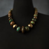 Turquoise Statement Necklace J Wild Artisan Jewelry