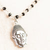 Black Spinel and Buddha