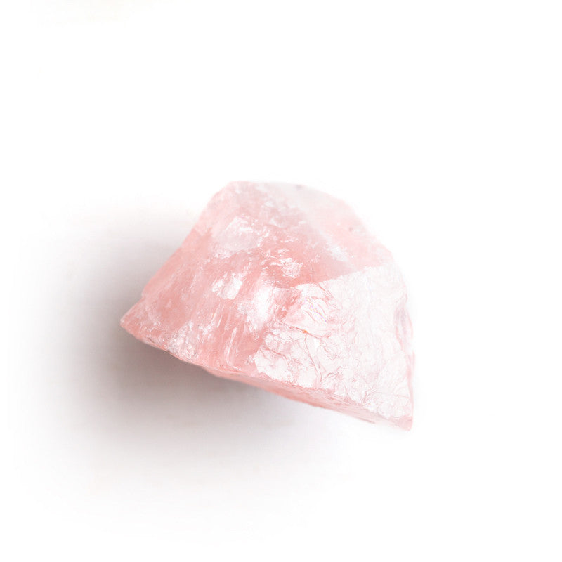 Raw Rose Quartz Knob Set