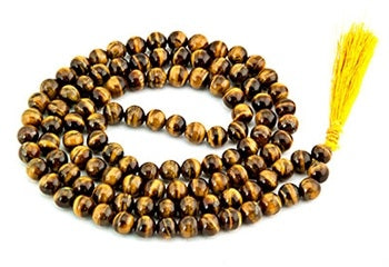Prayer Mala - Tiger Eye