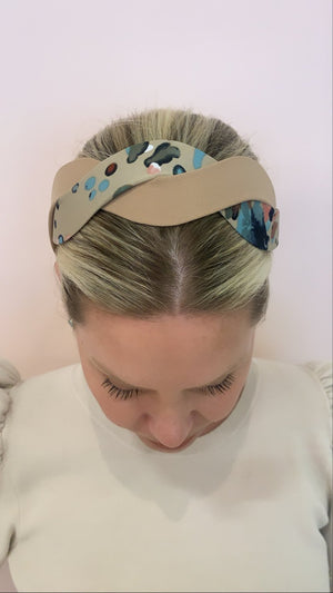 Twisted Sister Camel Headband
