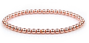 Stainless Steel Ball Stretch Bangles - (more styles)