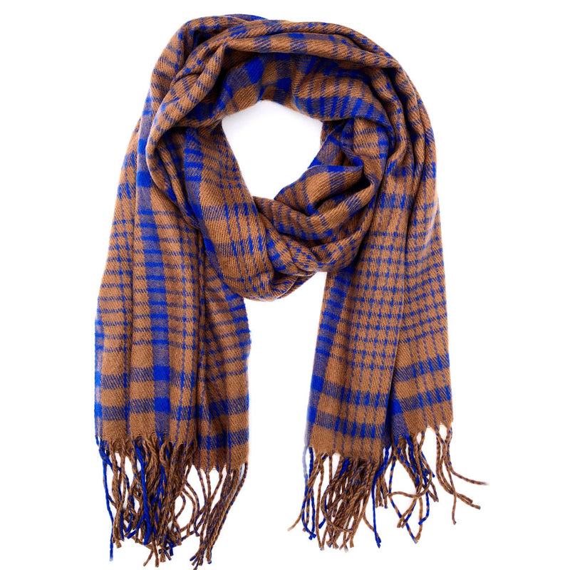 Ann Arbor Plaid Scarf