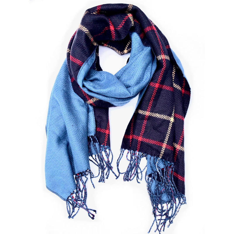 Berkeley Plaid Reversible Scarf