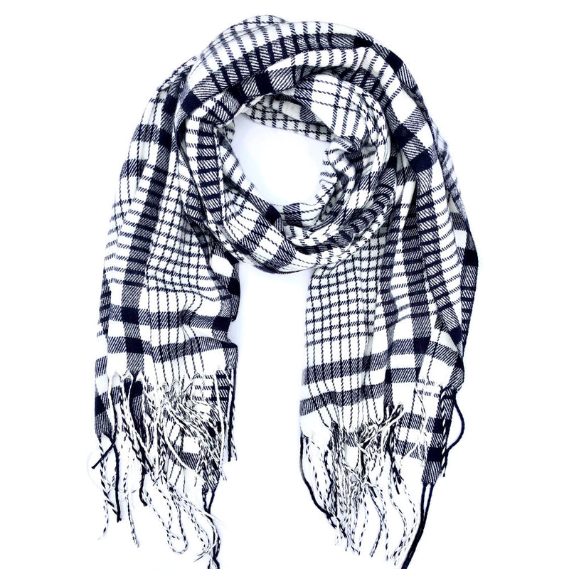 Blacksburg Plaid Scarf