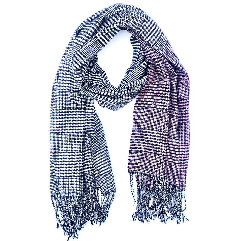 Champaign Houndstooth Scarf