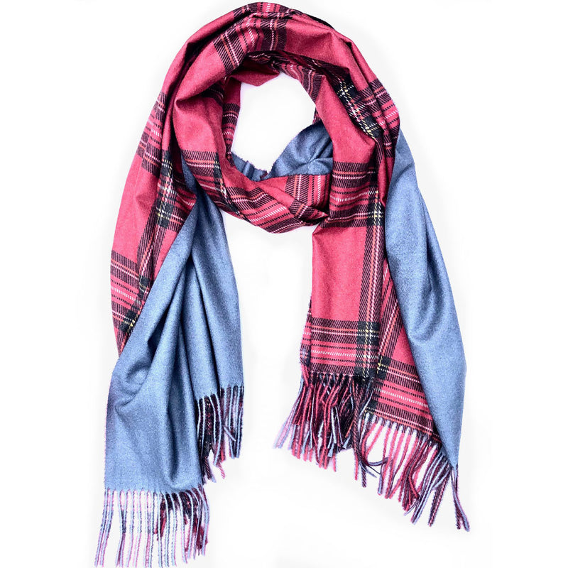 Chapel Hill Polished Plaid Scarf