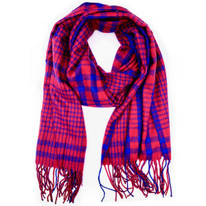 Dallas Plaid Scarf