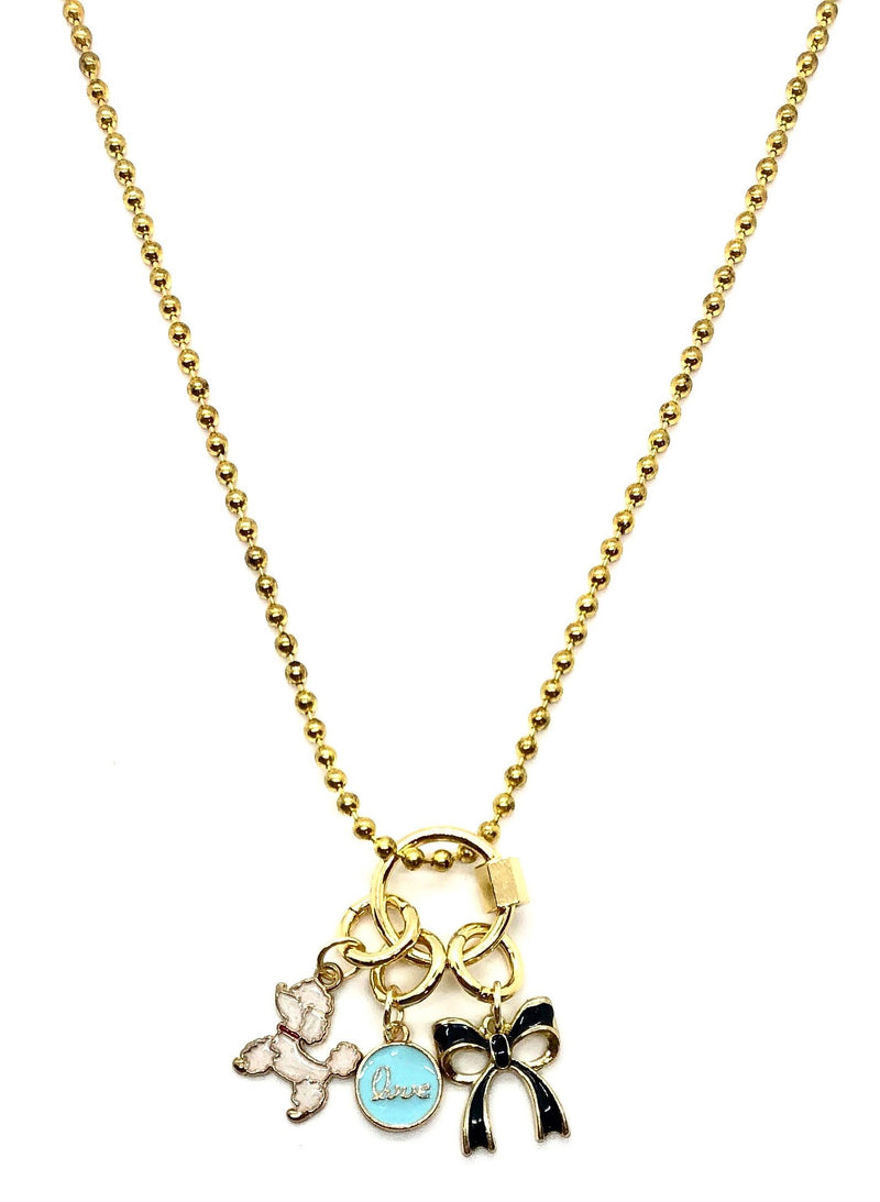 Puppy Love Charm Necklace