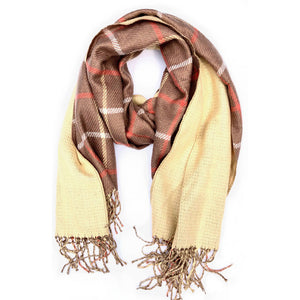 Lawrence Reversible Plaid Scarf