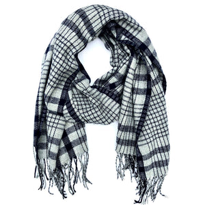Manhattan Plaid Scarf