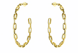 Anchor Chain Hoops