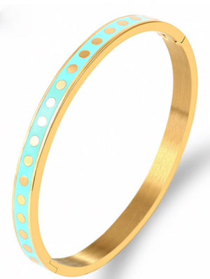 Dot to Dot Bangle