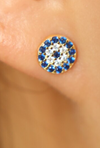 Turkish Evil Eye Studs