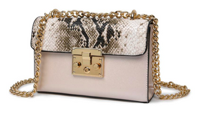 Mila Faux Snake Bag (more colors)
