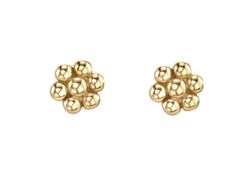 Dainty Dot Flower Studs