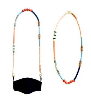 Turks - Convertible Mask Strap/Necklace