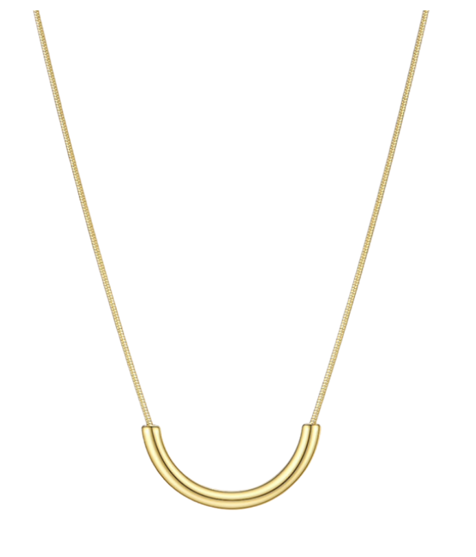 Golden Smile Necklace