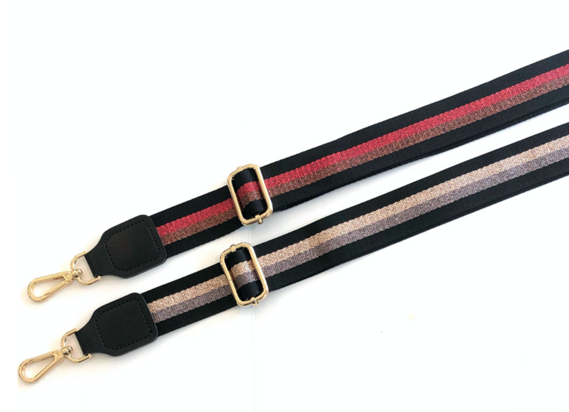 Disco Metallic Adjustable Bag Straps