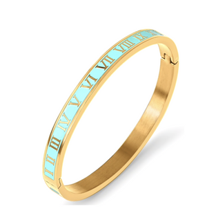 Turquoise Time After Time Bangle