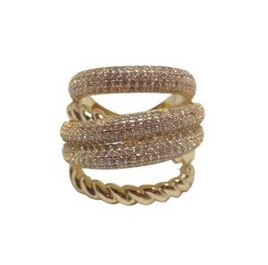 Gold Cable Luxe Ring -2 week pre-order