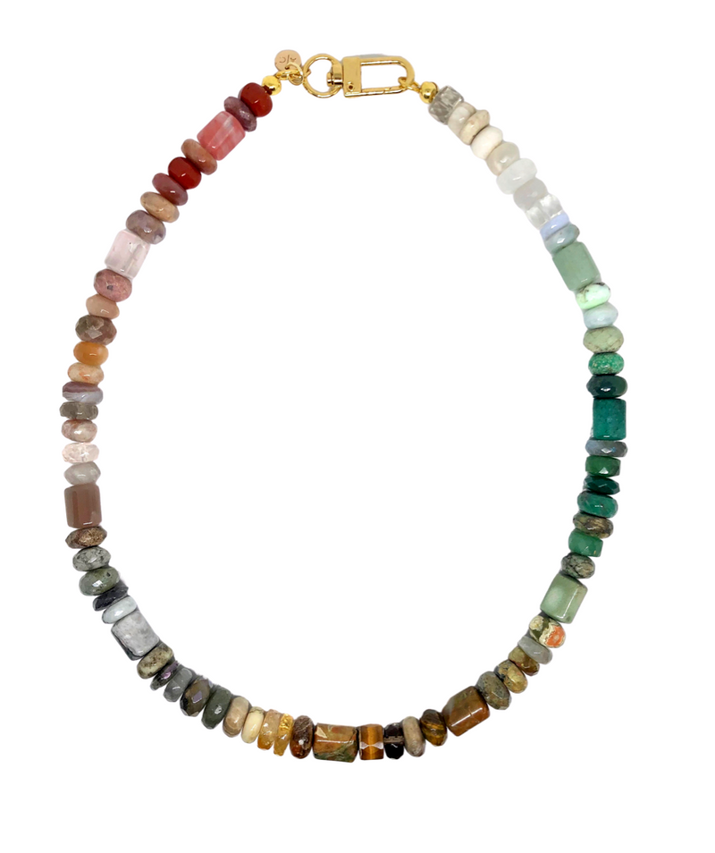 Glass Rainbow Collar