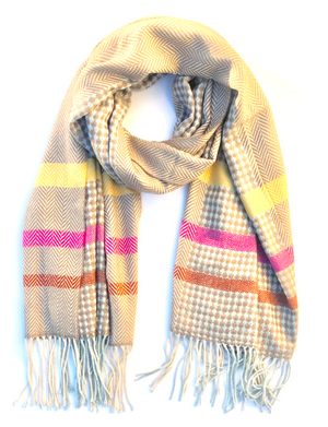 Joy Fringed Scarf