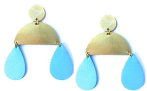 Leather Raindrops -(more colors)