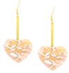 L'amour Drop Earrings - (more colors)