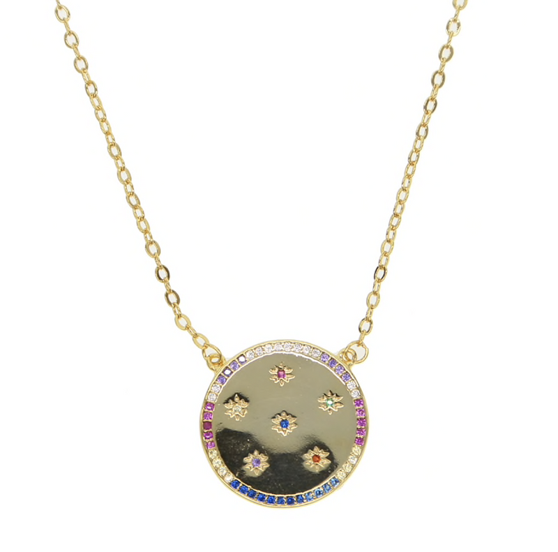 Stella Medallion Necklace