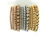 Stainless Steel Ball Stretch Bracelets- (more styles)