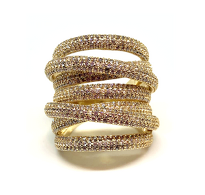 Gold Grande Twisted Luxe Ring