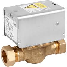 Motorized Zone Valve Honeywell 22mm compression Two port