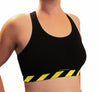 Hot Stripes Sports Bra