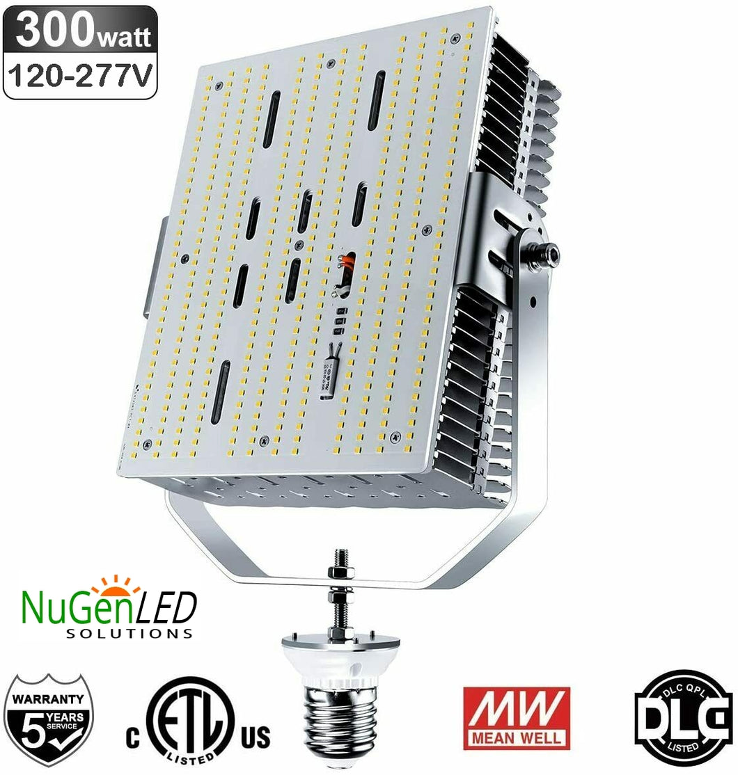 NGRK-300W LED DLC Shoebox Retrofit Kit 38,300LM 5YR Warranty 120-277V