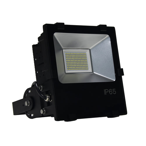 150 watt LED DLC Flood Light - 16,500LM 57K Trunnion Mounting Bracket - 5yr Warranty
