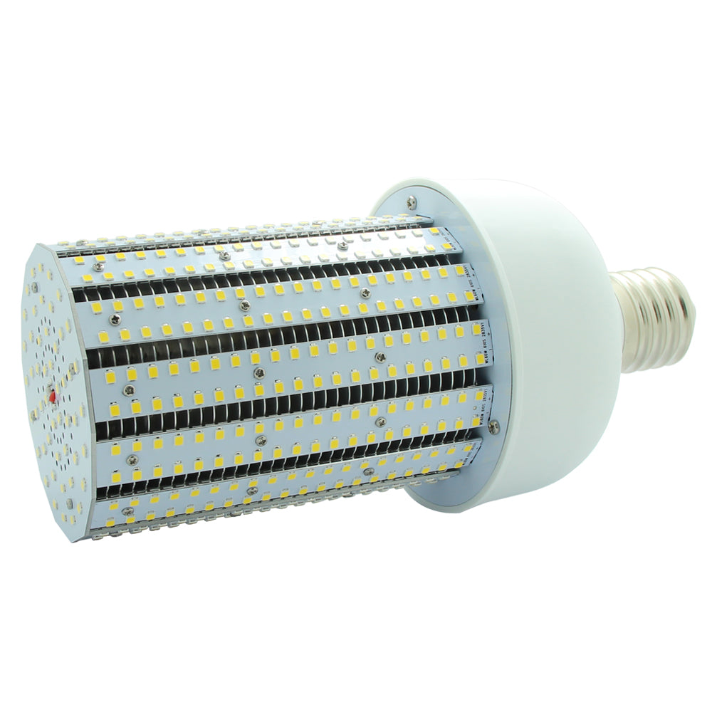 NuGen LED 60 Watt Corn Bulb 8,143 Lumens 5000k DLC Certified 5 Year Warranty 120-277V